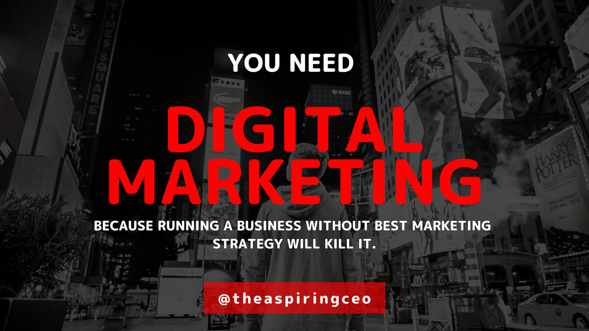 RUNNING A BUSINESS WITHOUT MARKETING WILL KILL IT