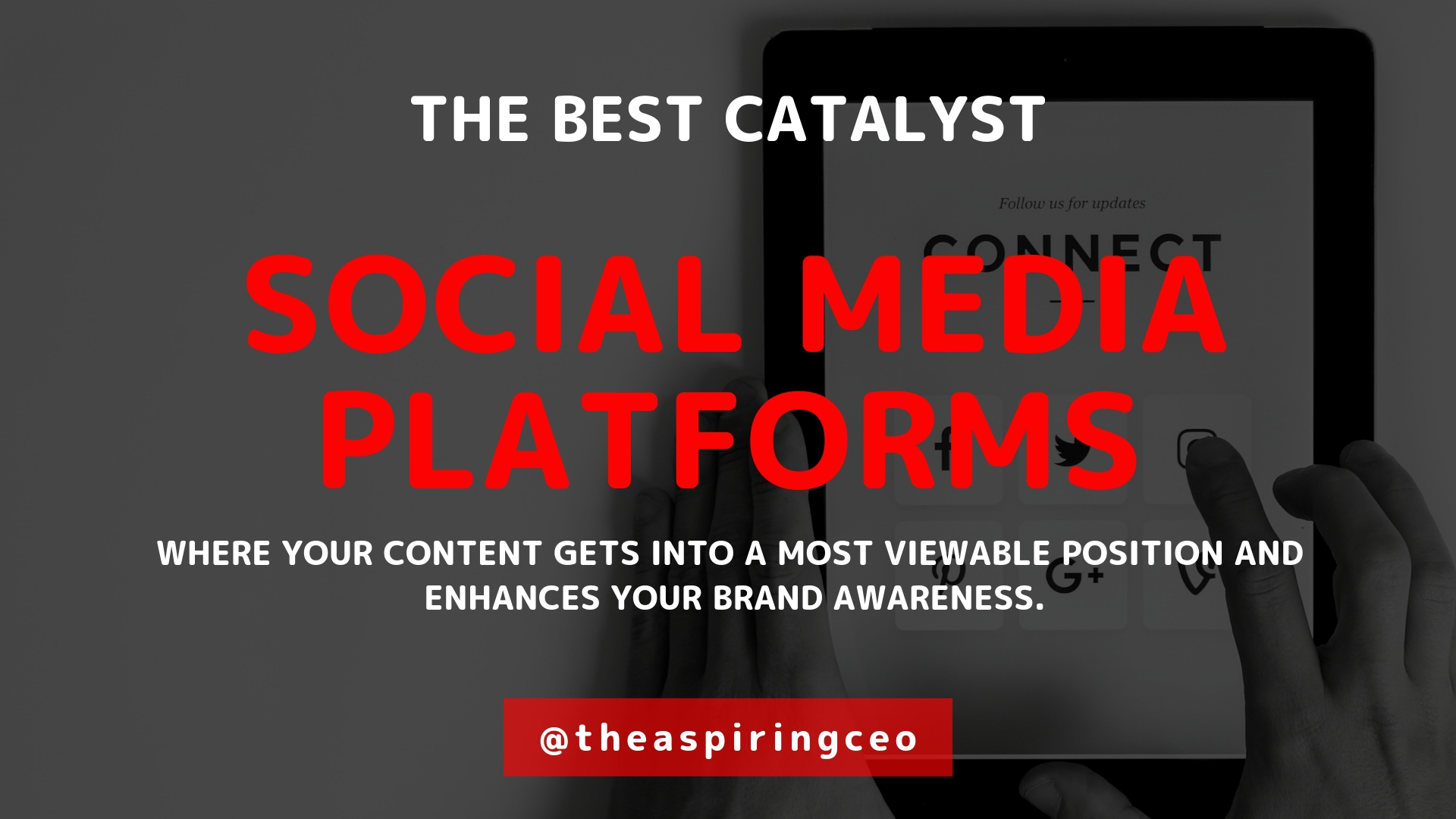 BASIC PLATFORMS ON WHICH CONTENT MARKETING THRIVES